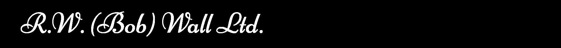 Bob Wall Contracting Logo